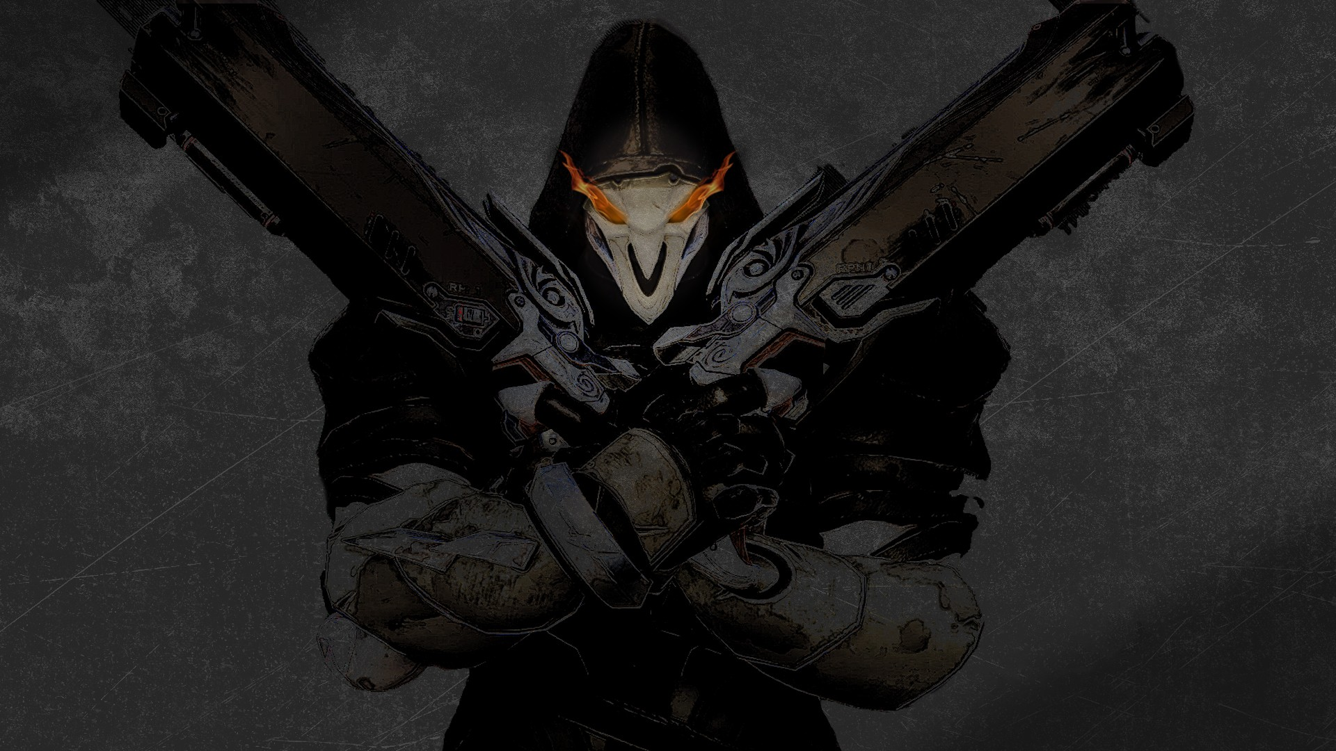 Overwatch Reaper wallpaper ·① Download free awesome HD ...