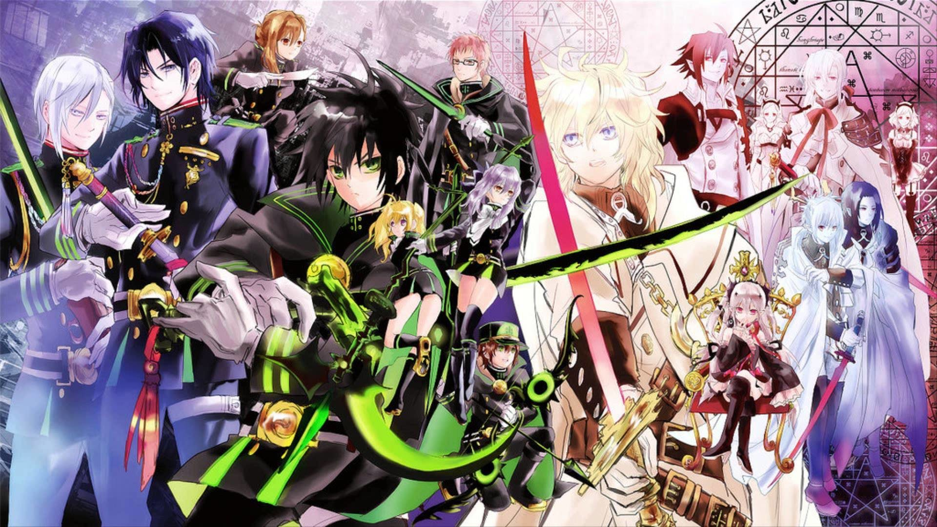 Owari No Seraph Wallpapers Wallpapertag