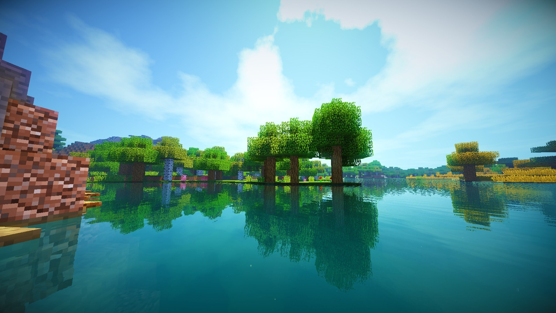Minecraft Background Pictures Wallpapertag
