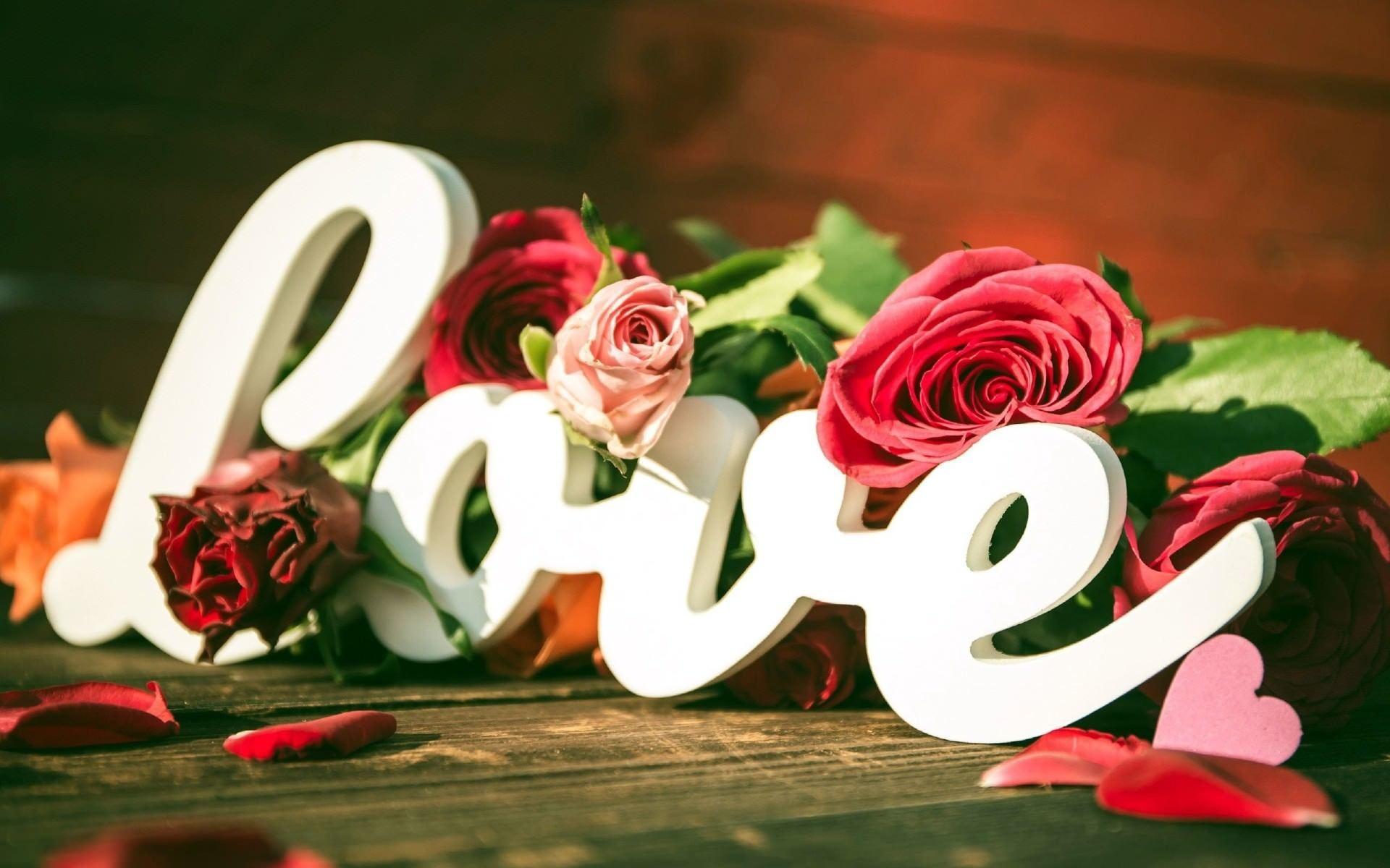 love flower wallpaper ·①