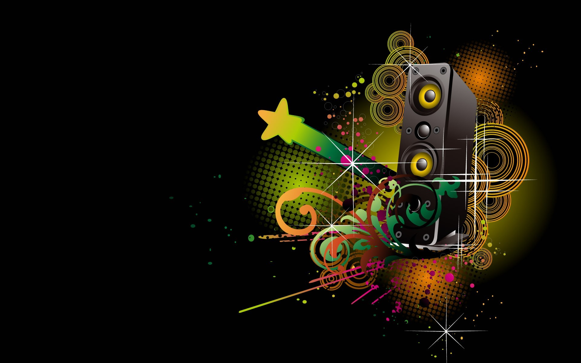 Dj Logo Wallpaper Desktop