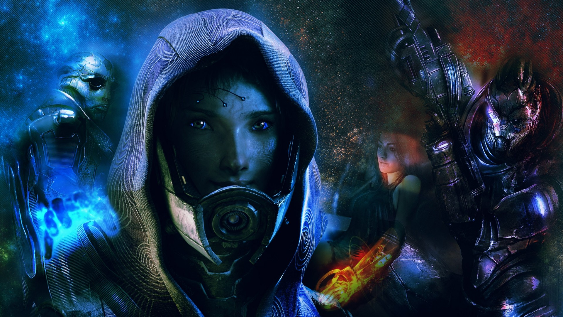48 Mass Effect Wallpapers Download Free Beautiful Backgrounds