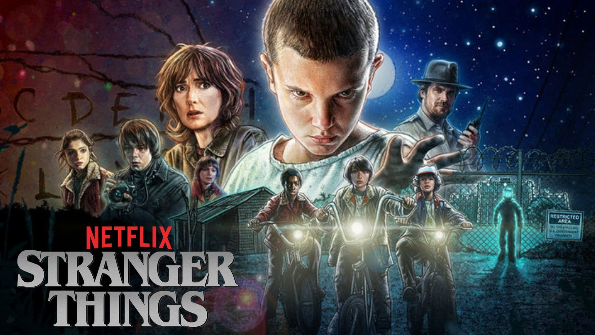 Stranger Things Wallpapers Wallpapertag