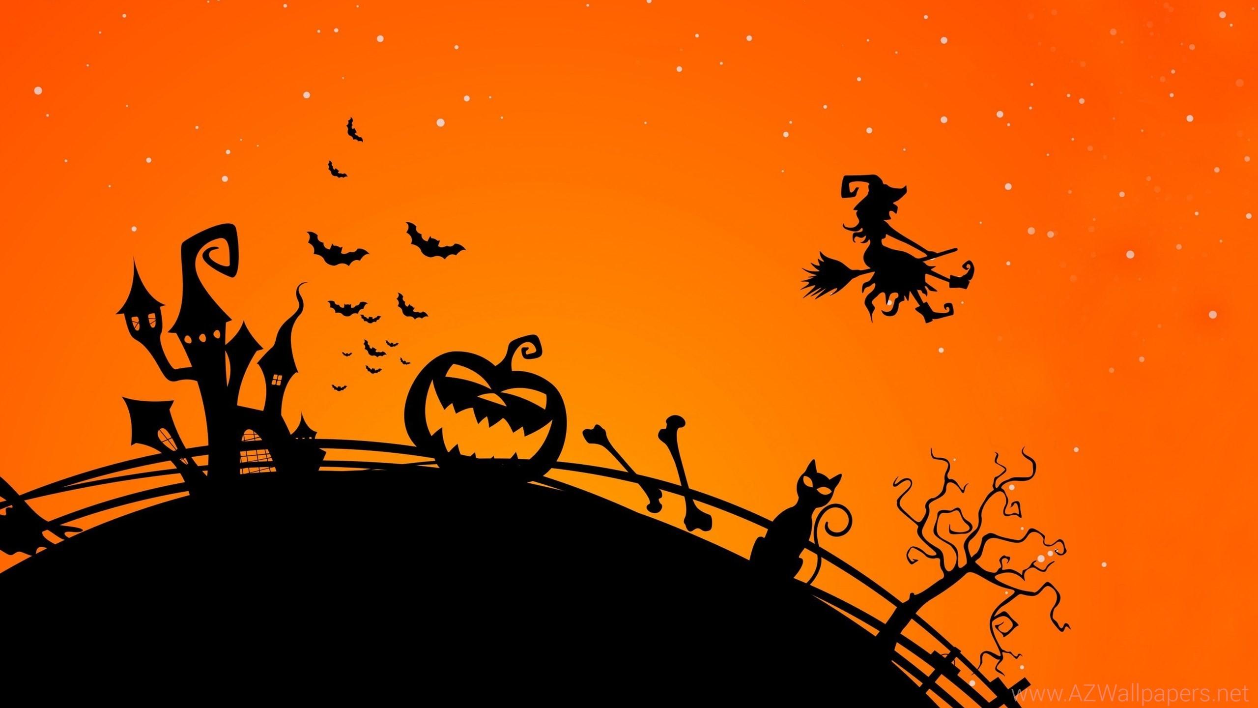 Funny Halloween Backgrounds ·①