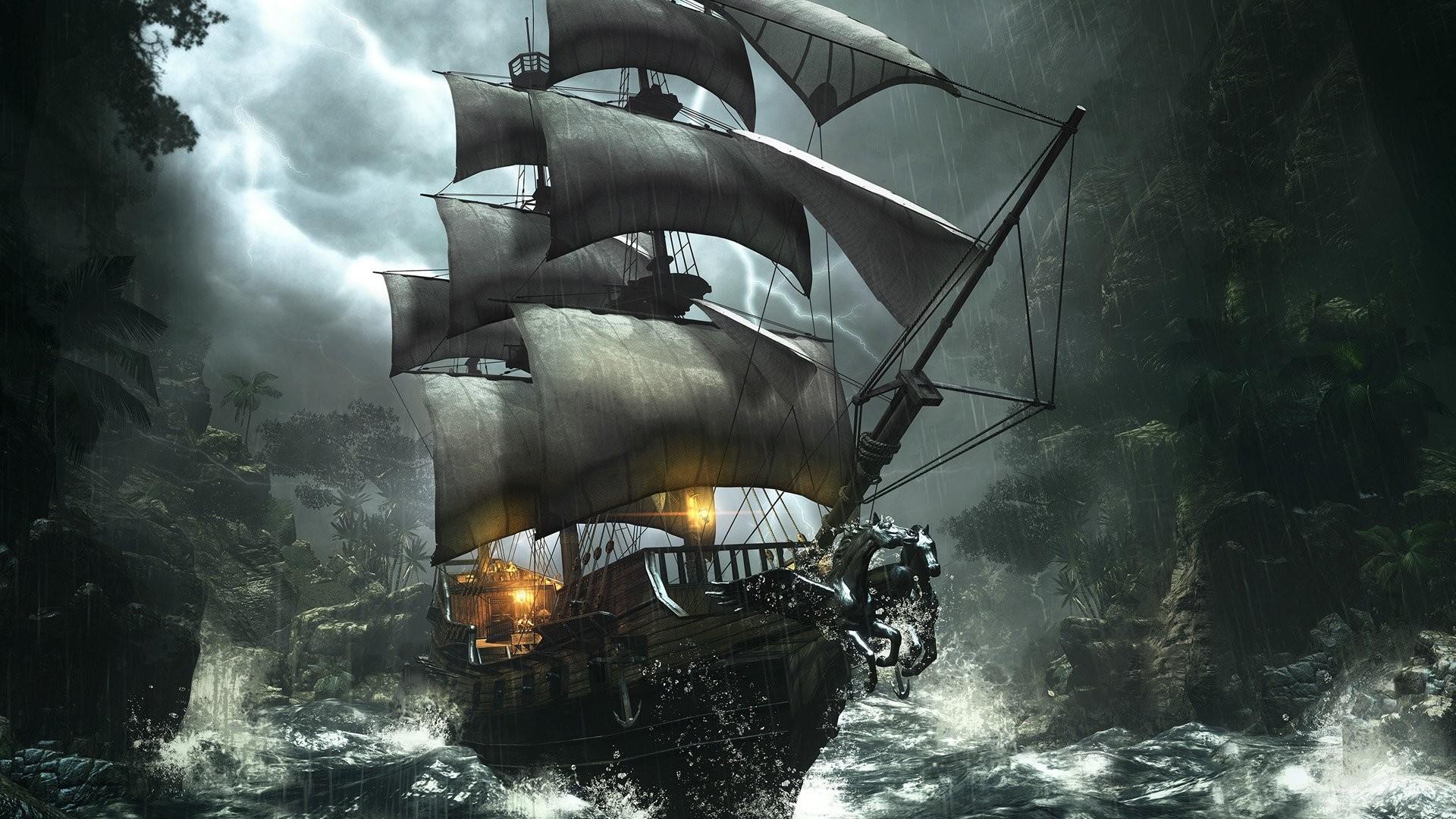 Черный фрегат  № 3513610 загрузить