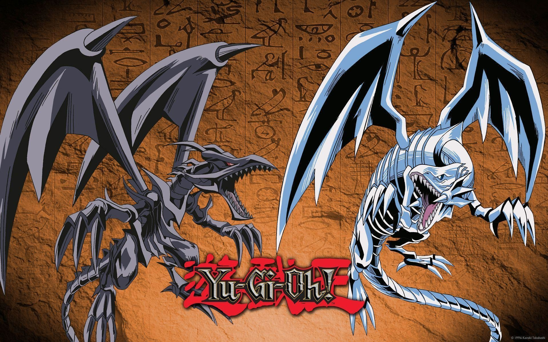 Red Eyes Black Dragon vs Blue Eyes White Dragon Wallpaper ...