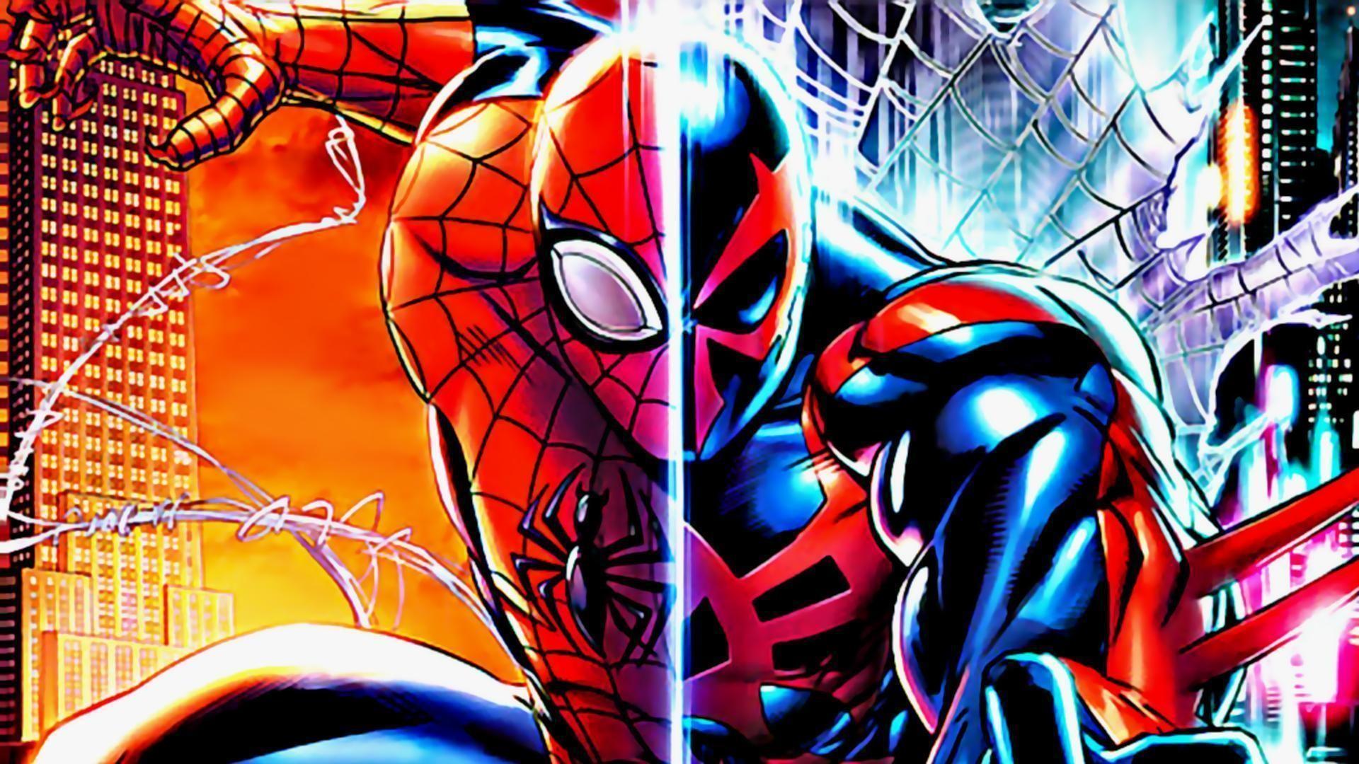 10 Most Popular Spider Man 2099 Wallpaper Hd Full Hd 1920: Spider Man 2099 Wallpaper ·①