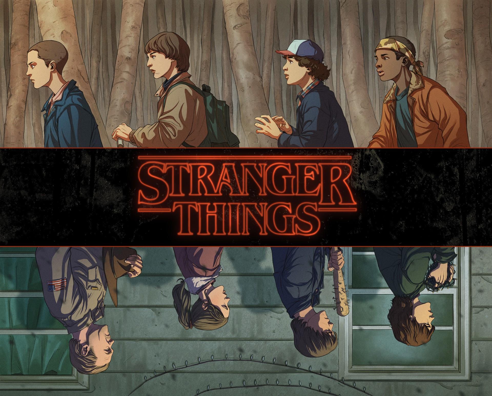 Stranger things wallpaper download free beautiful - Stranger things desktop wallpaper ...