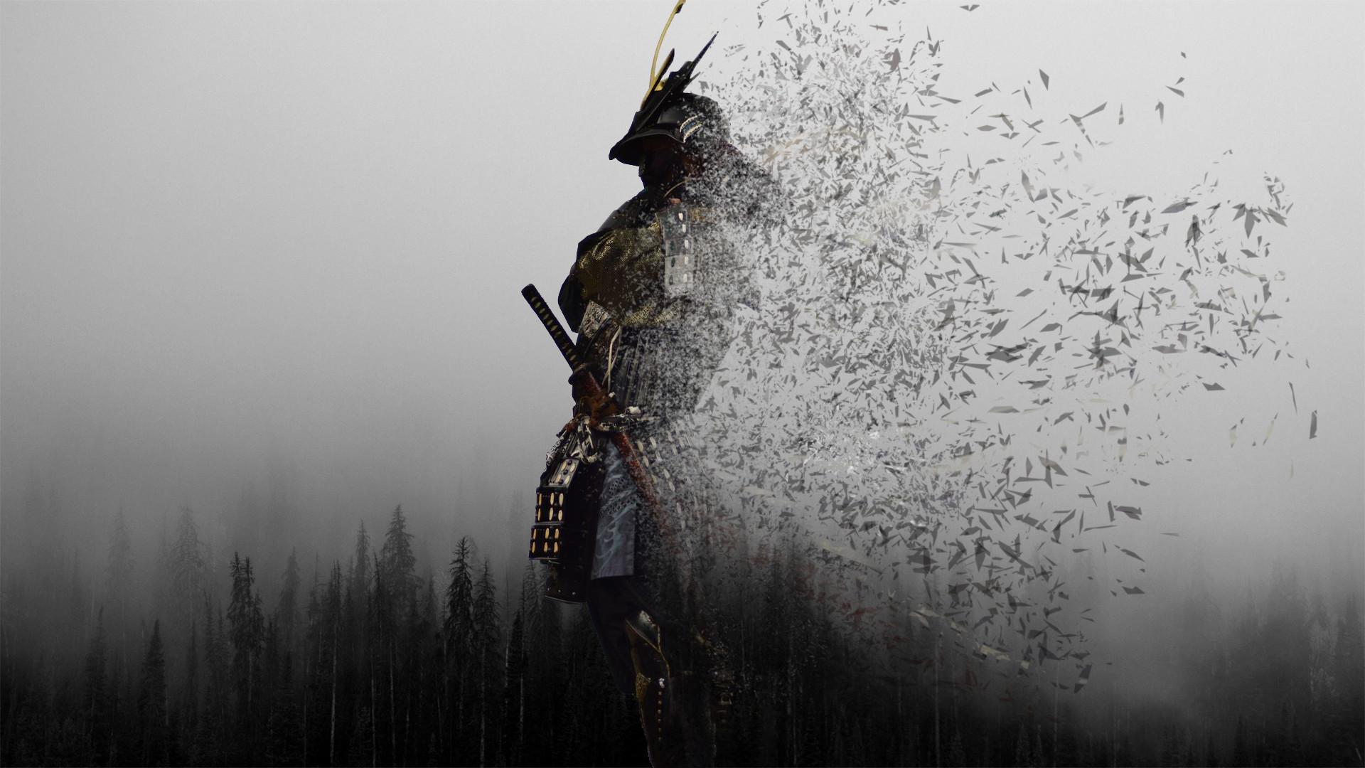 обои на пк самураи которых