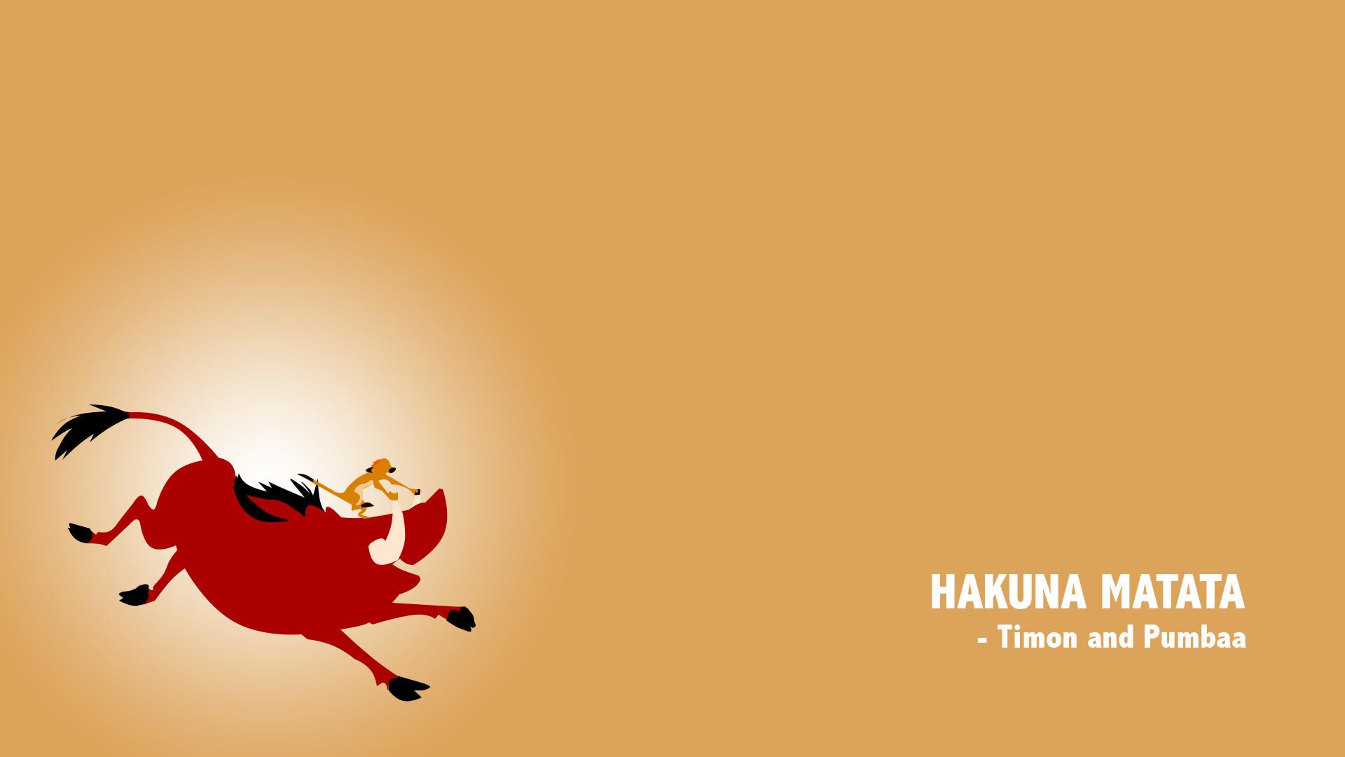Hakuna Matata Wallpaper ·①