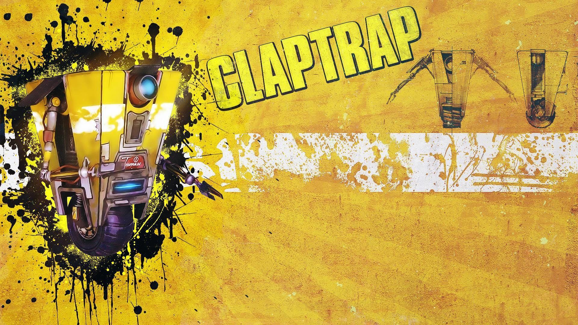 Claptrap Wallpaper Wallpapertag