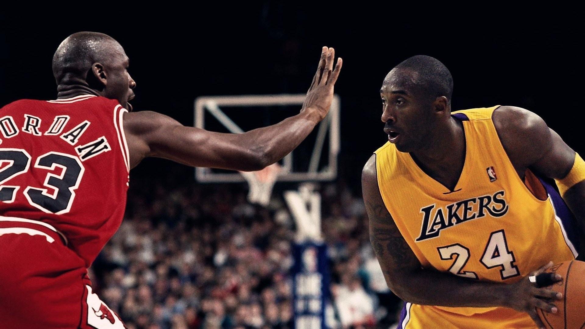 Kobe Vs Jordan Wallpaper Hd Wallpapertag