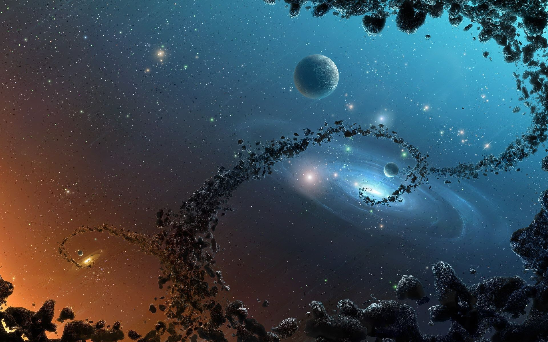 universe wallpaper hd ·①