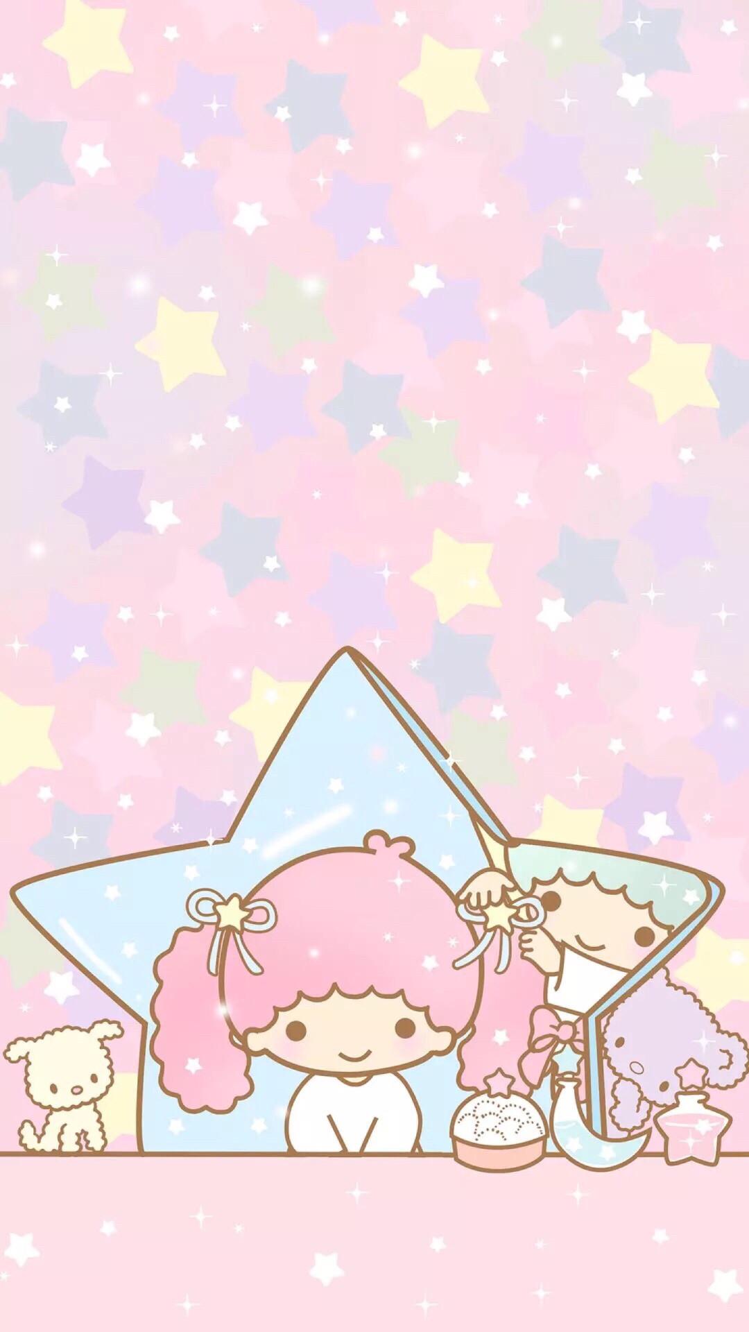 Sanrio Pom Pom Purin And Macaron Wallpaper