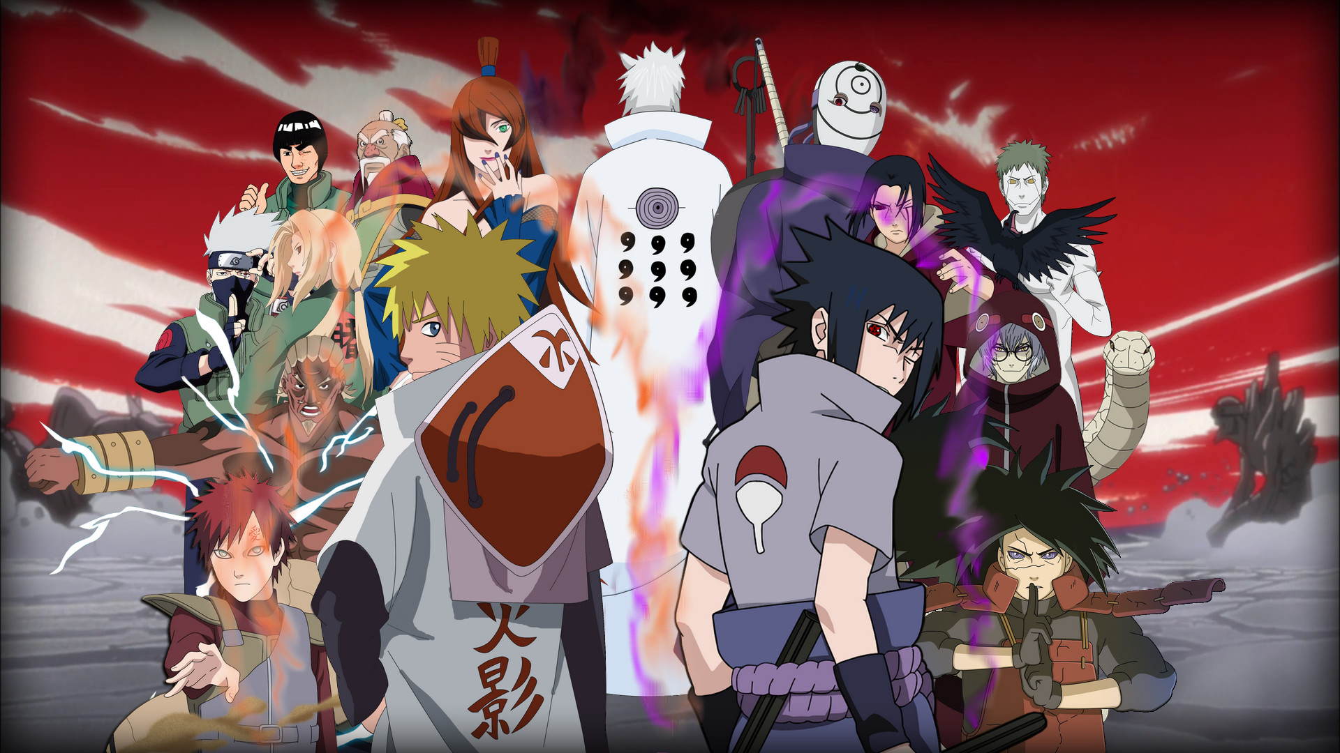Naruto Characters Wallpapers ·①
