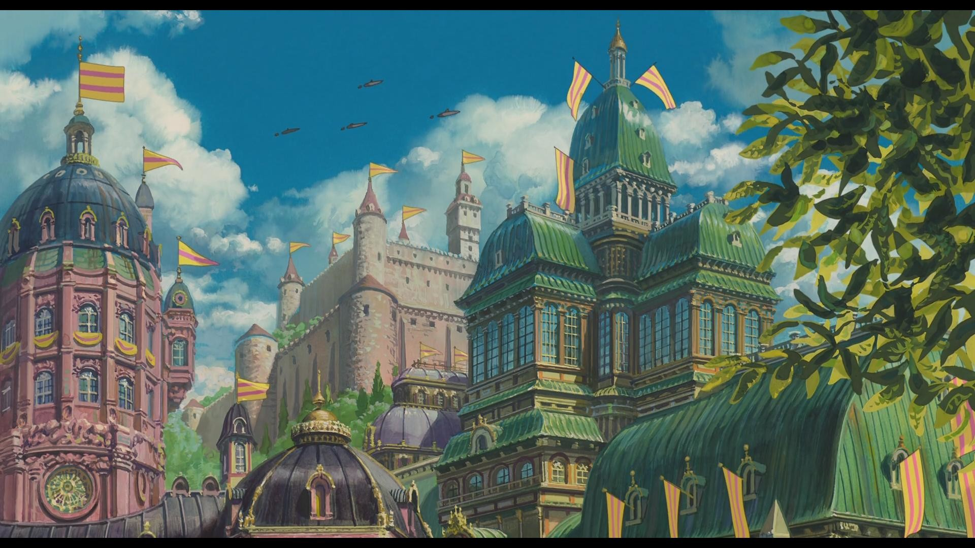 howls moving castle wallpapers 183��