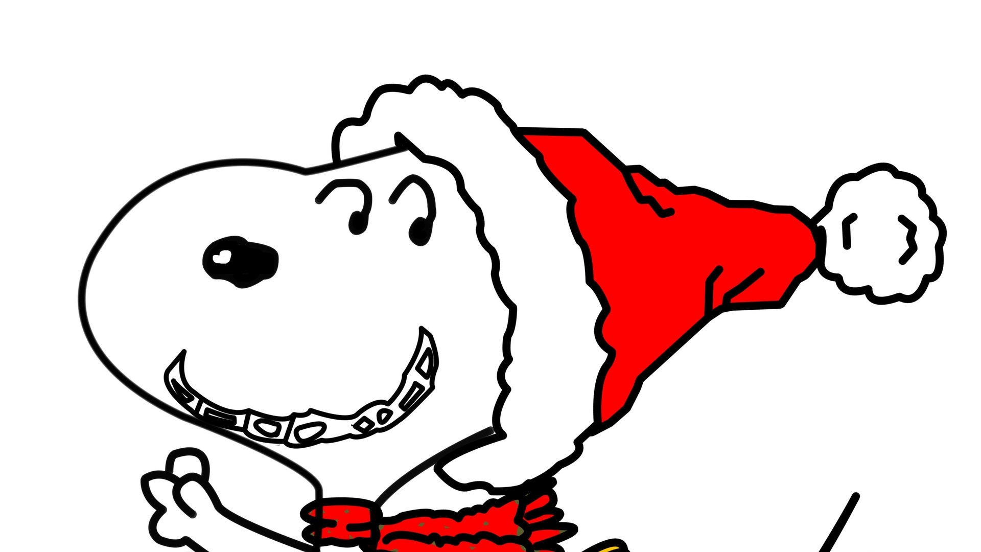 Snoopy Christmas Backgrounds ·① WallpaperTag