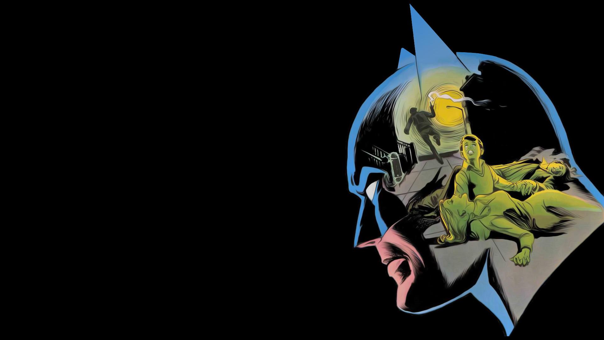 batman cartoon wallpaper ·①