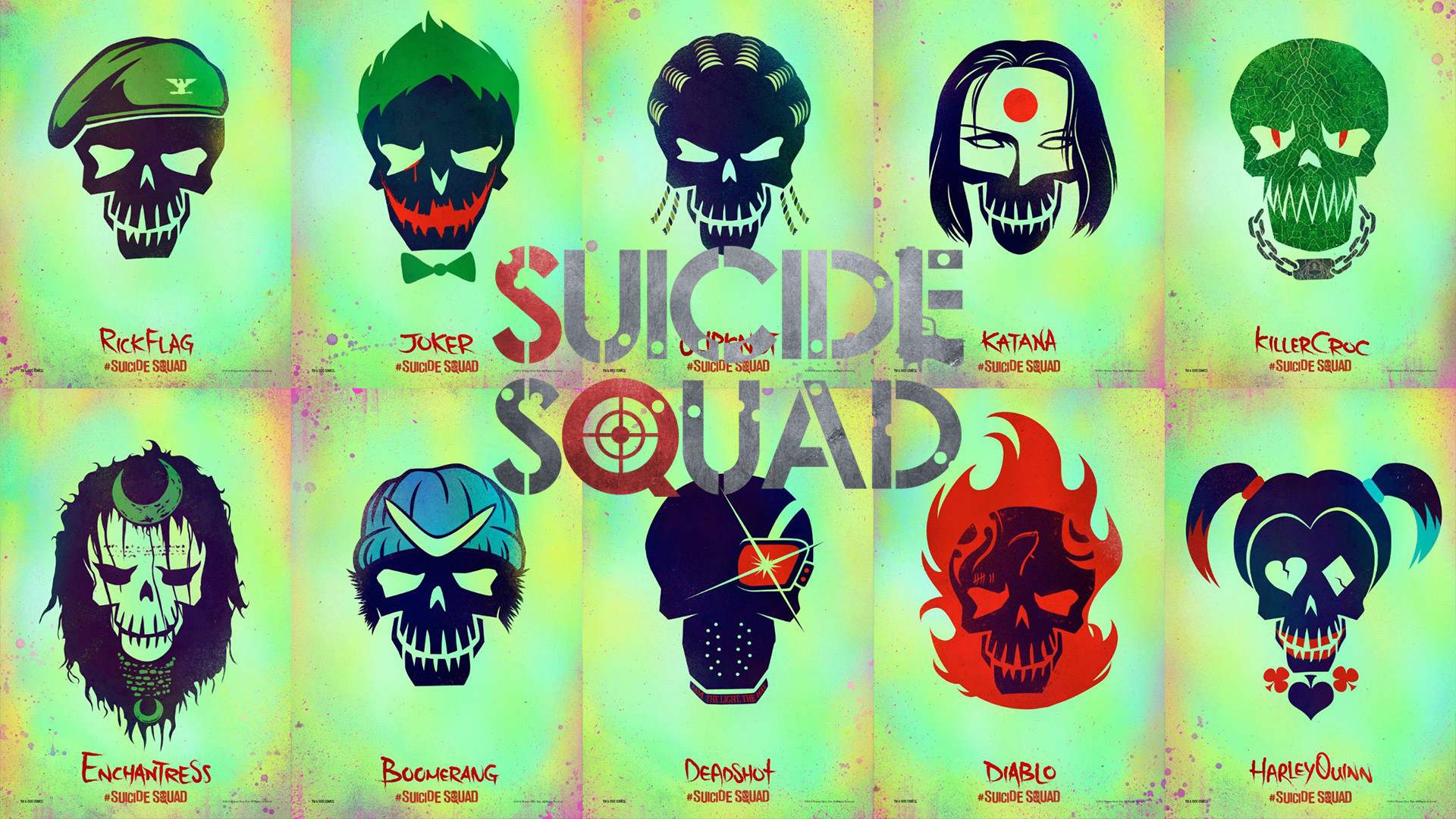 Suicide Squad Wallpapers ·① WallpaperTag