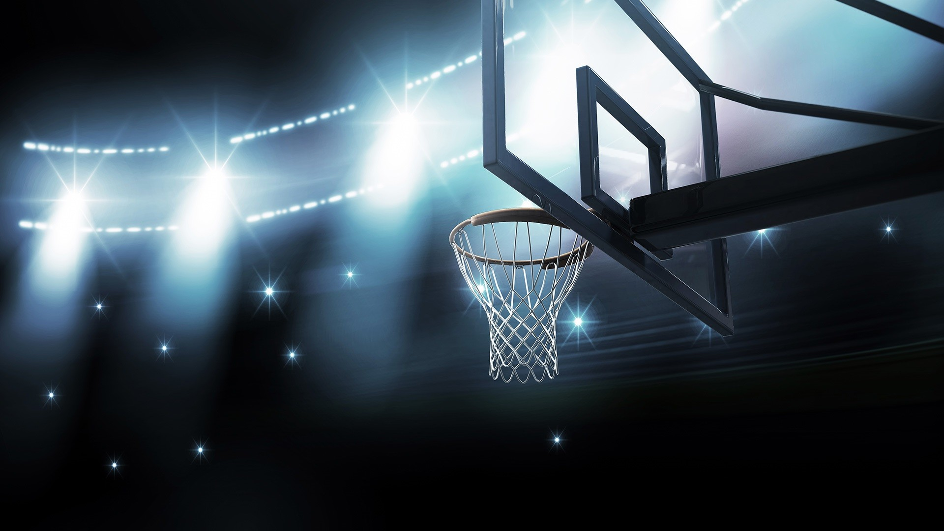 Basketball Court Wallpaper ·①