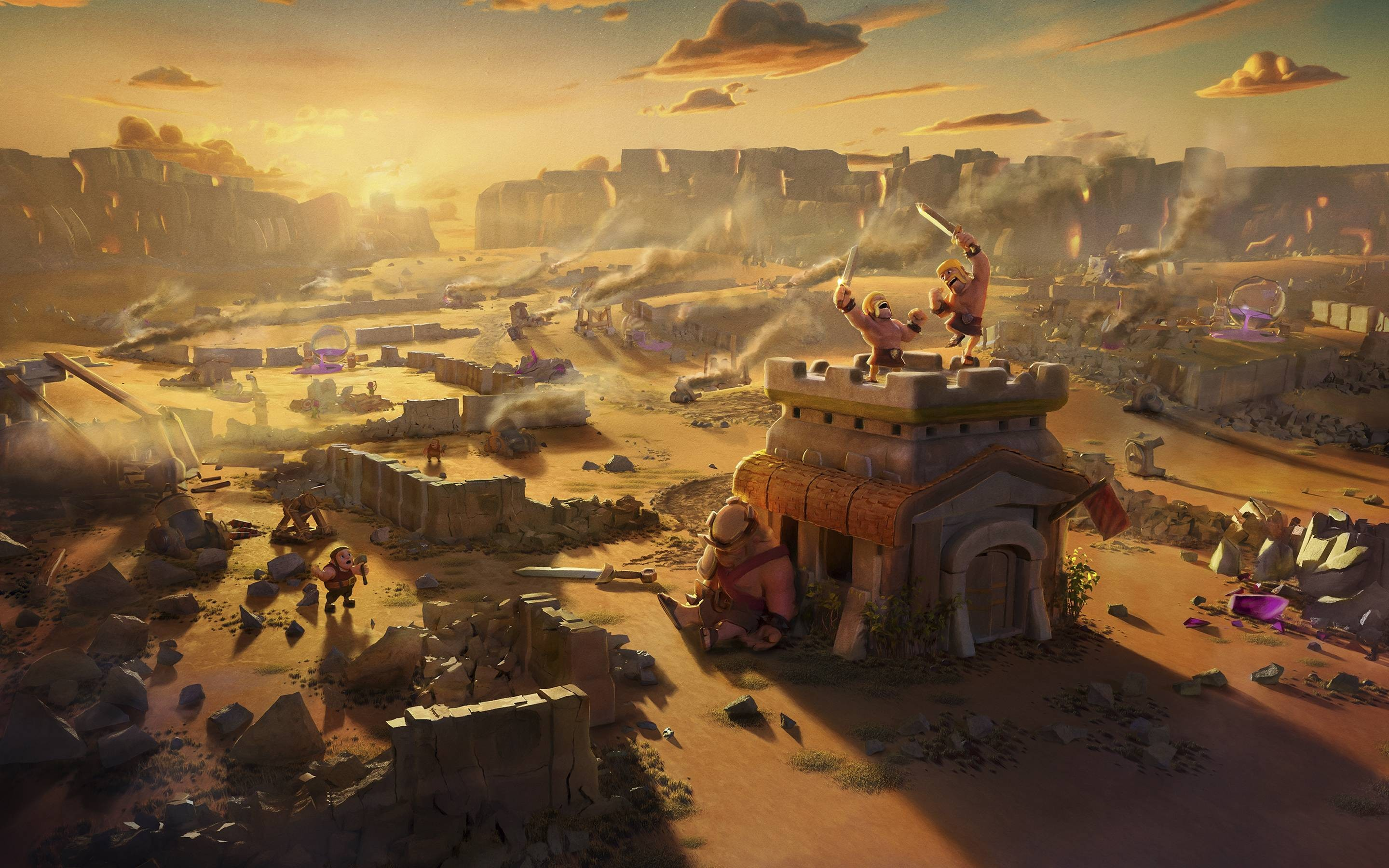 Clash Of Clans Wallpaper Download Free Cool Wallpapers For