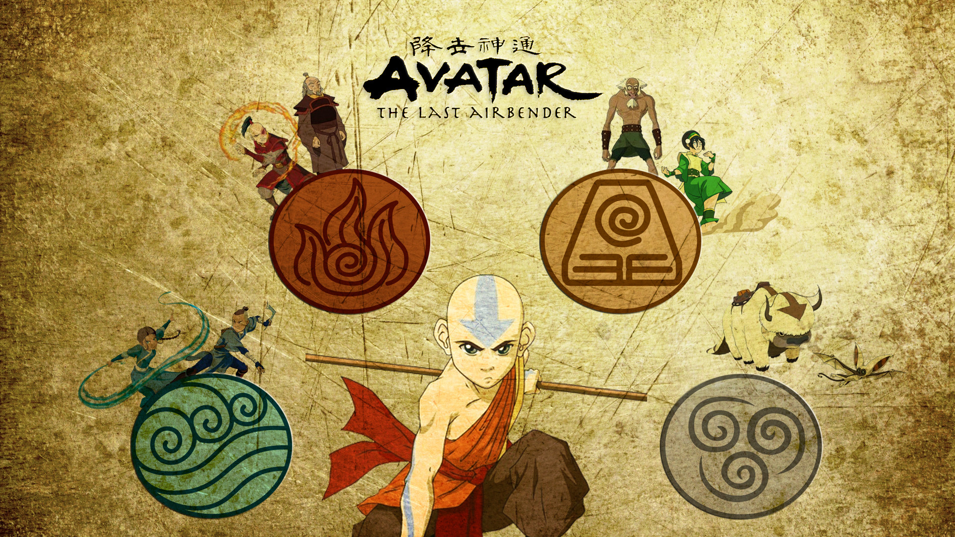Avatar The Last Airbender Wallpapers 1920x1080 Download