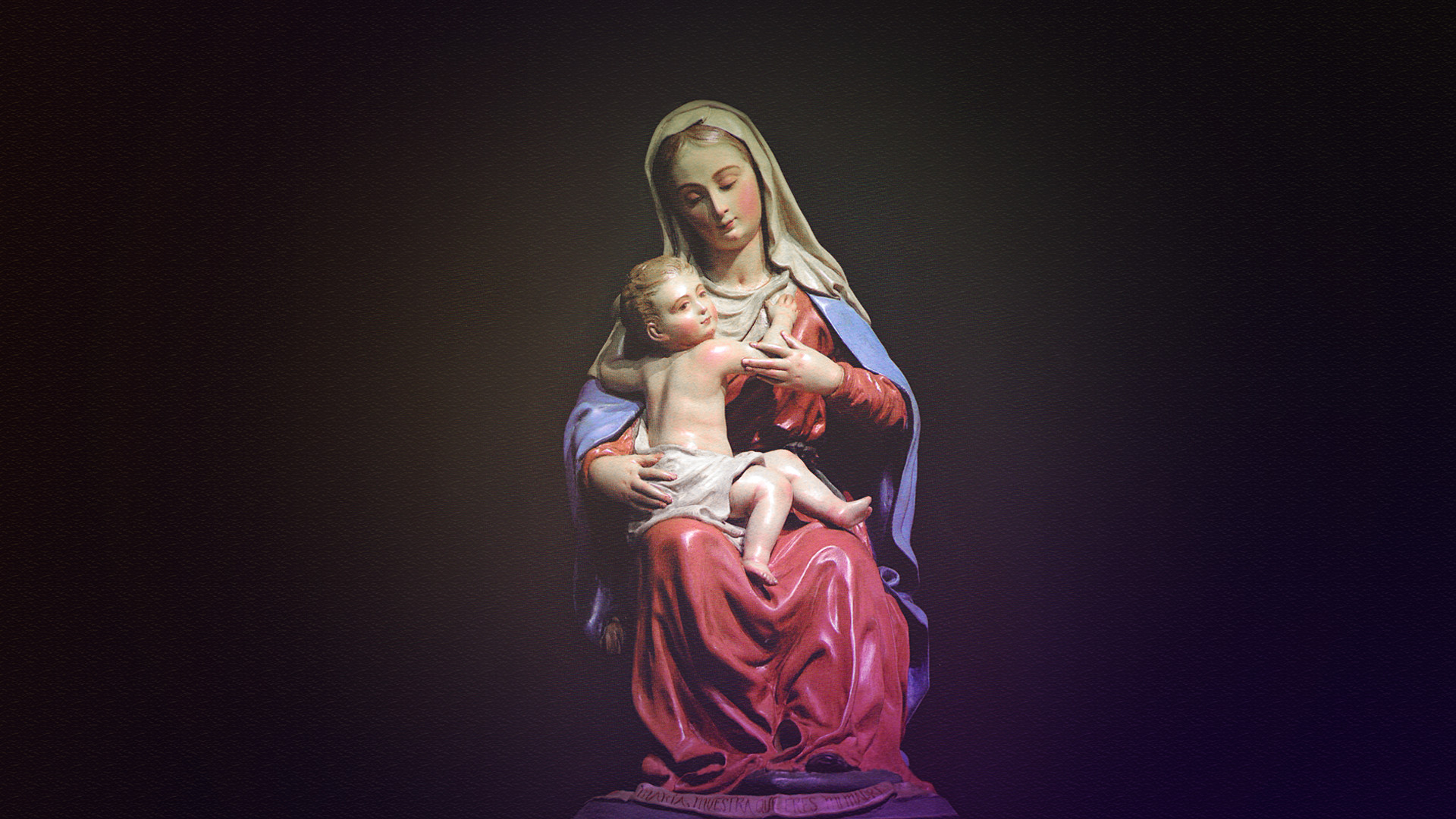 Mary Mother Of God Wallpaper ·①
