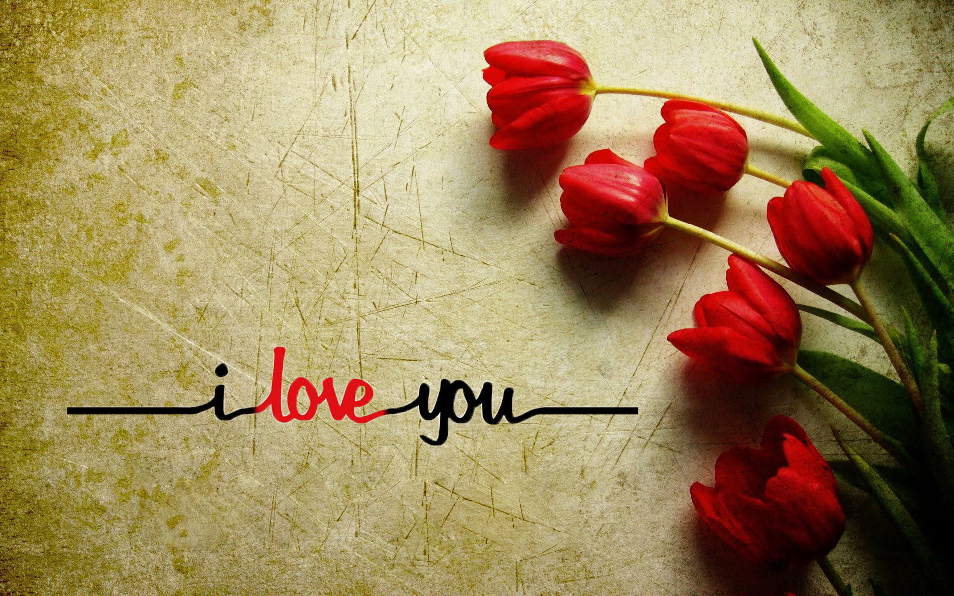 Love u wallpaper wallpapertag - I love you 4k ...