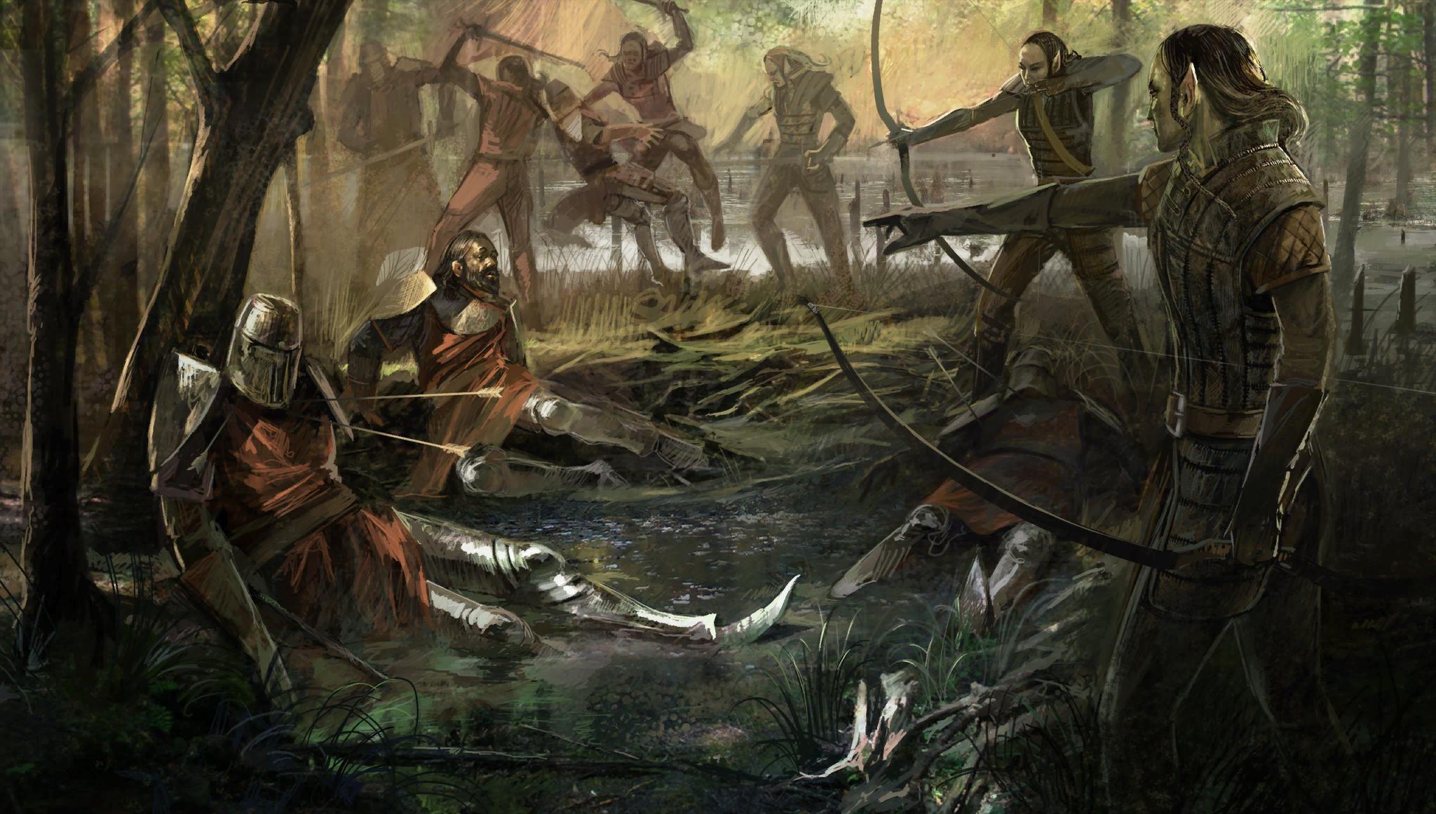 Fantasy Art Elves Wallpapers Hd Desktop And Mobile: Elves Wallpaper ·① WallpaperTag