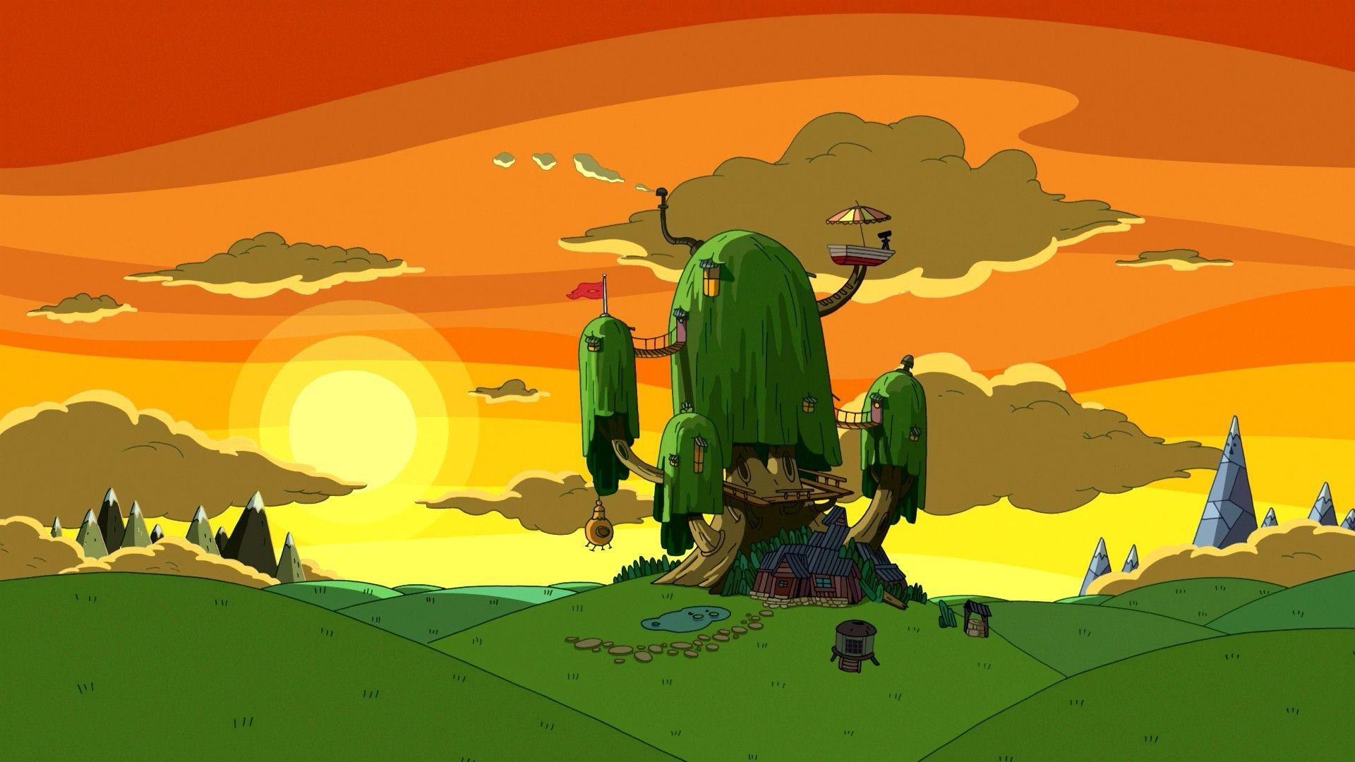 Adventure Time Backgrounds ·① WallpaperTag
