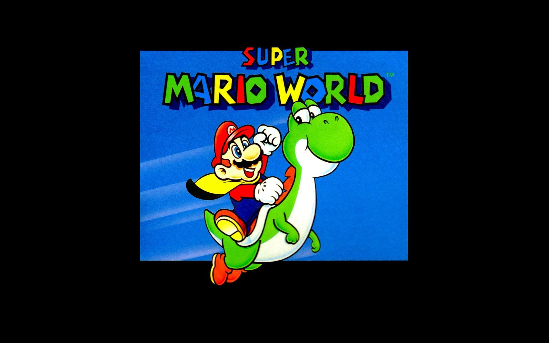 Super mario world wallpaper download free cool hd backgrounds super gumiabroncs Choice Image