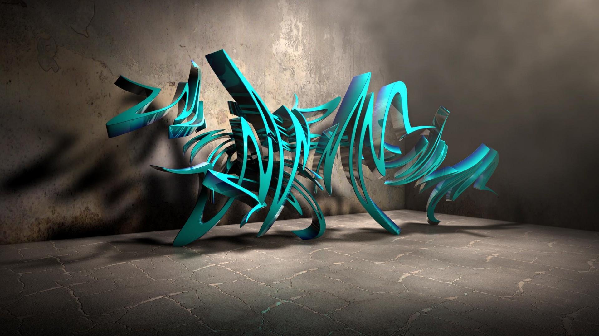 Graffiti Wallpaper Desktop 3d