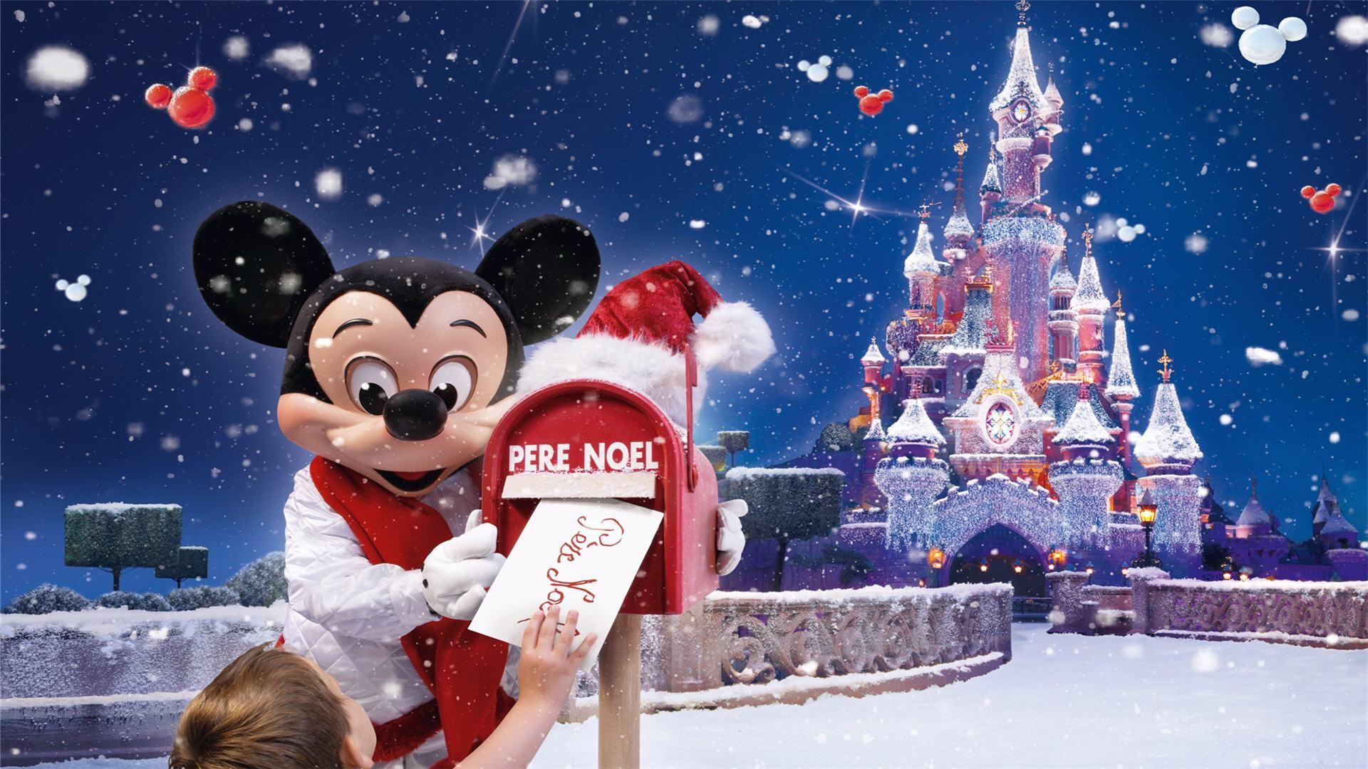 Disney Christmas Wallpaper Desktop Wallpapertag