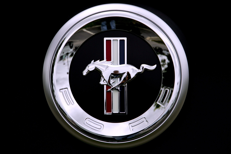 Ford Mustang Logo Wallpaper 1
