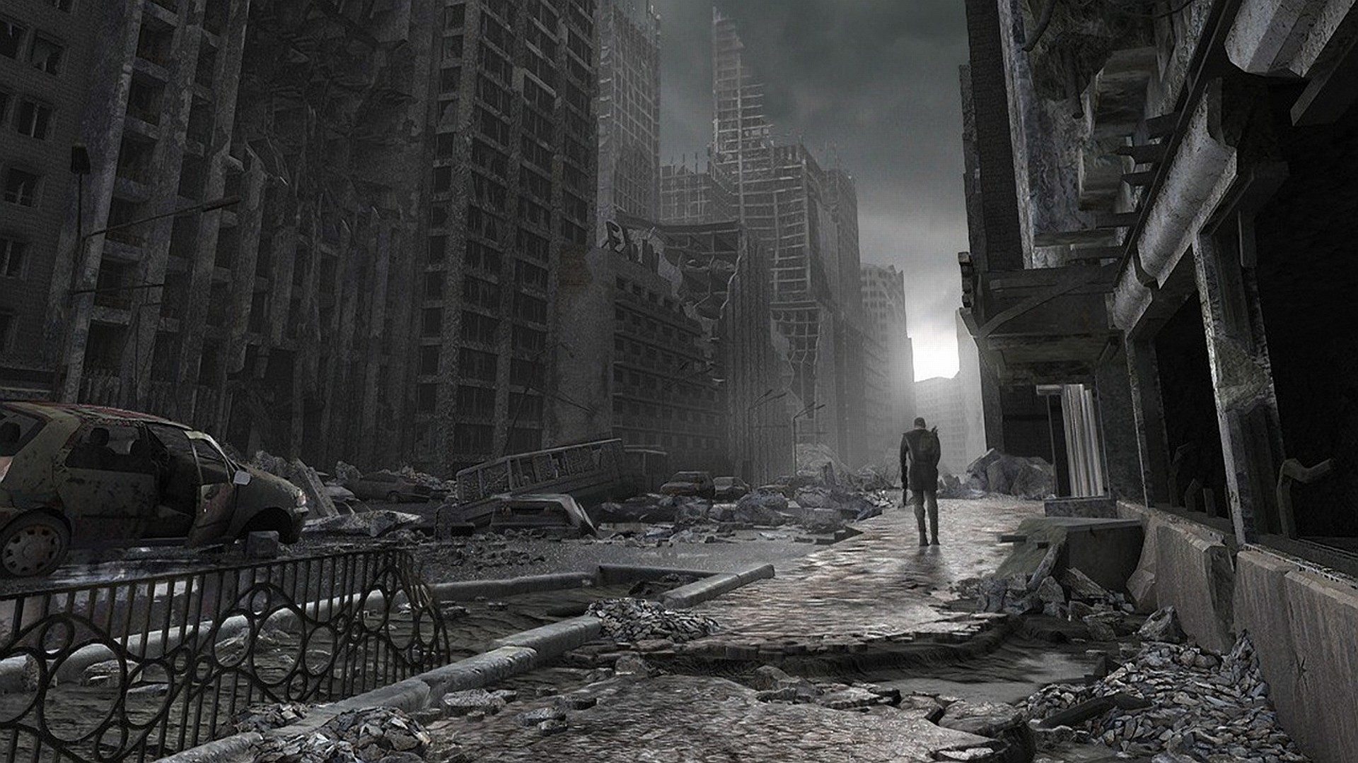 Post Apocalyptic Wallpaper 1 Download Free Awesome Wallpapers For