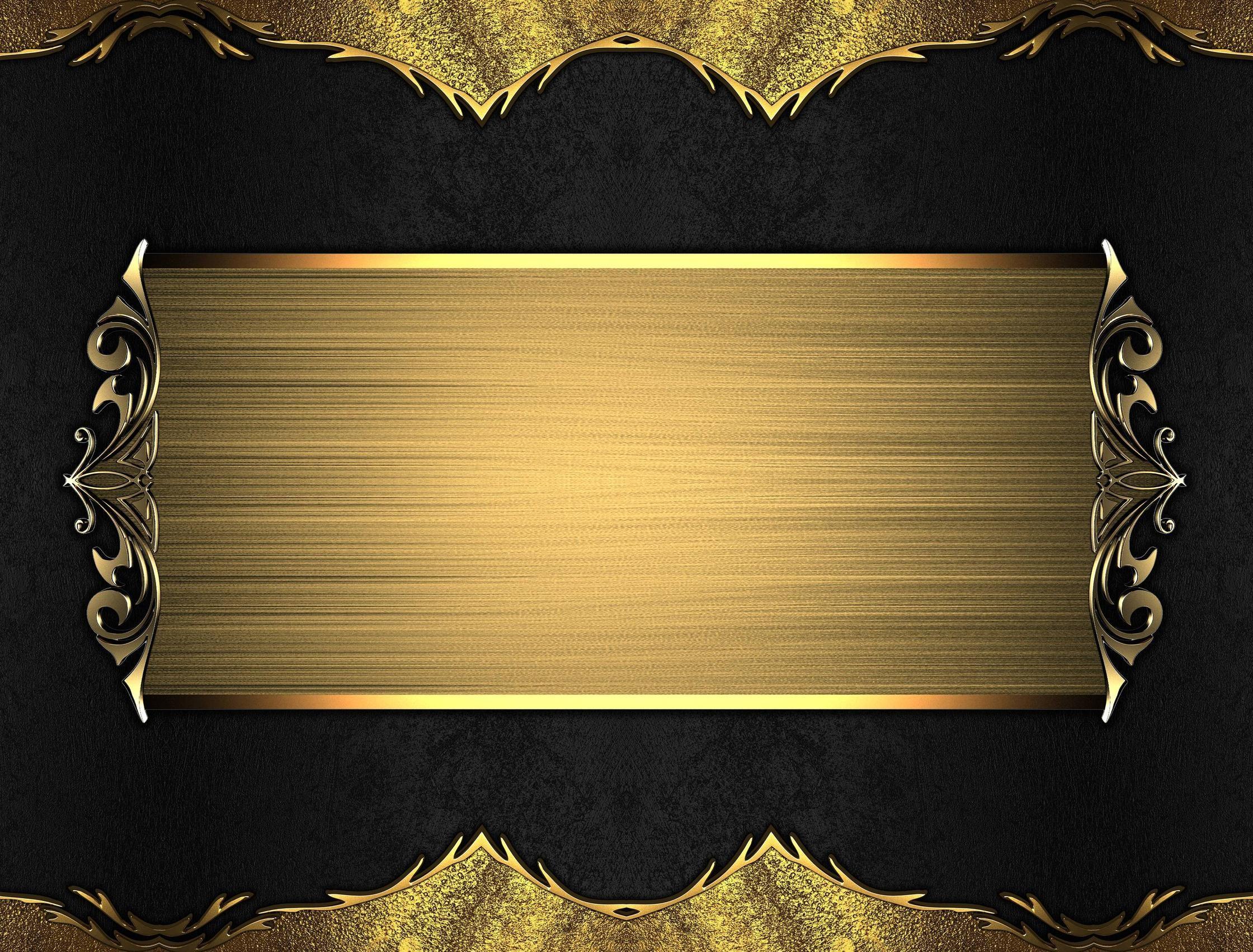 Black Gold Background ·① WallpaperTag