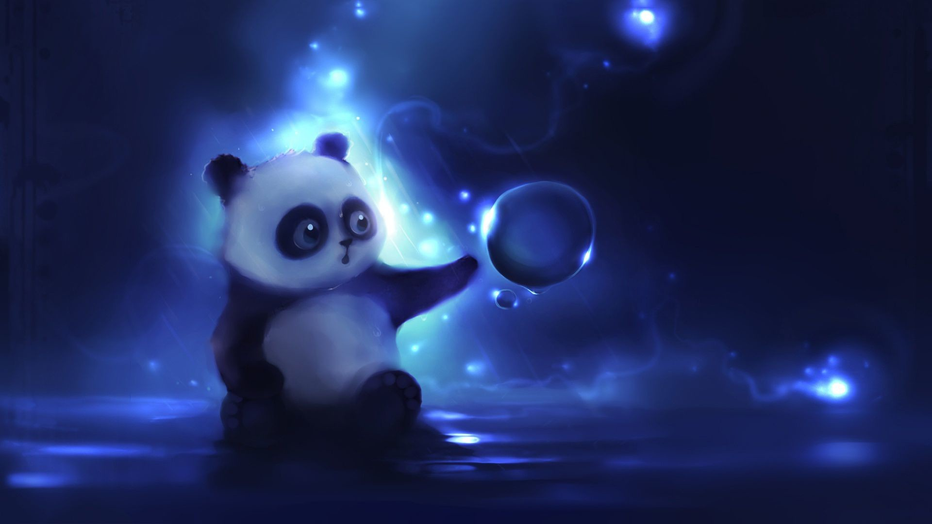 Cute Baby Panda Animal Lovely Branches Wallpaper Source Background