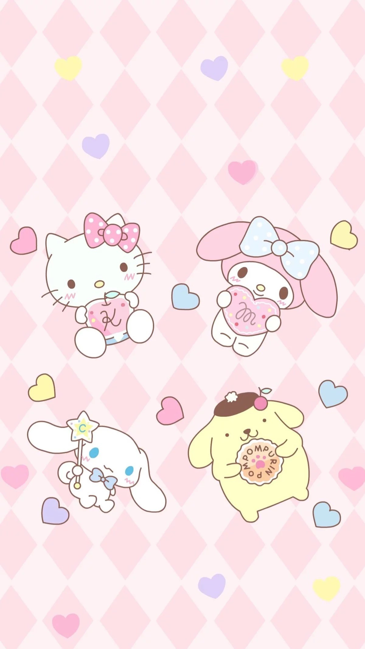 Wonderful Wallpaper Hello Kitty Pastel - 699322-sanrio-pom-pom-purin-and-macaron-wallpaper-1200x2132-for-tablet  Graphic_1007024.jpg