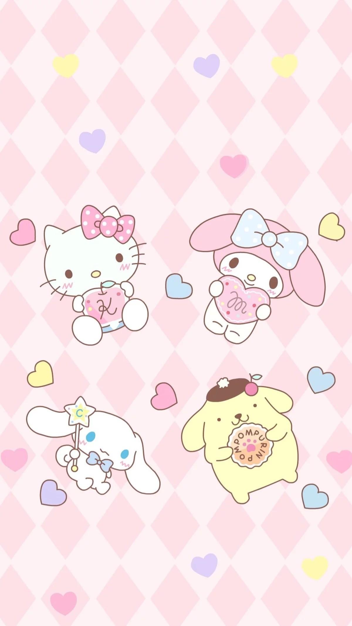 Sanrio Pom Pom Purin and Macaron Wallpaper ·① WallpaperTag