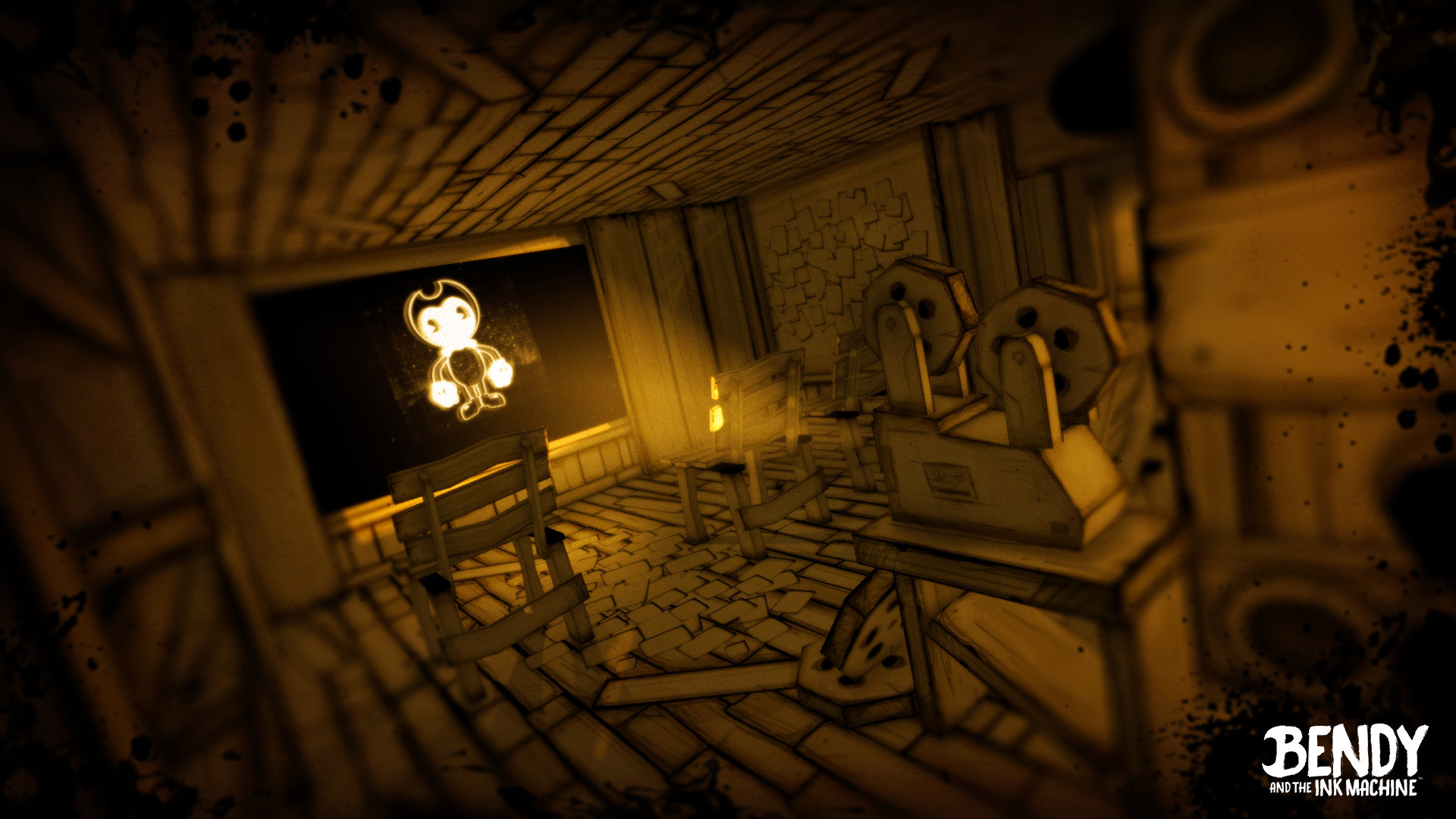 Bendy And The Ink Machine Wallpapers Wallpapertag