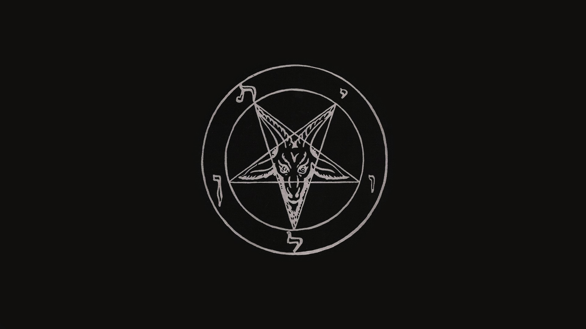 satanic pentagram wallpaper