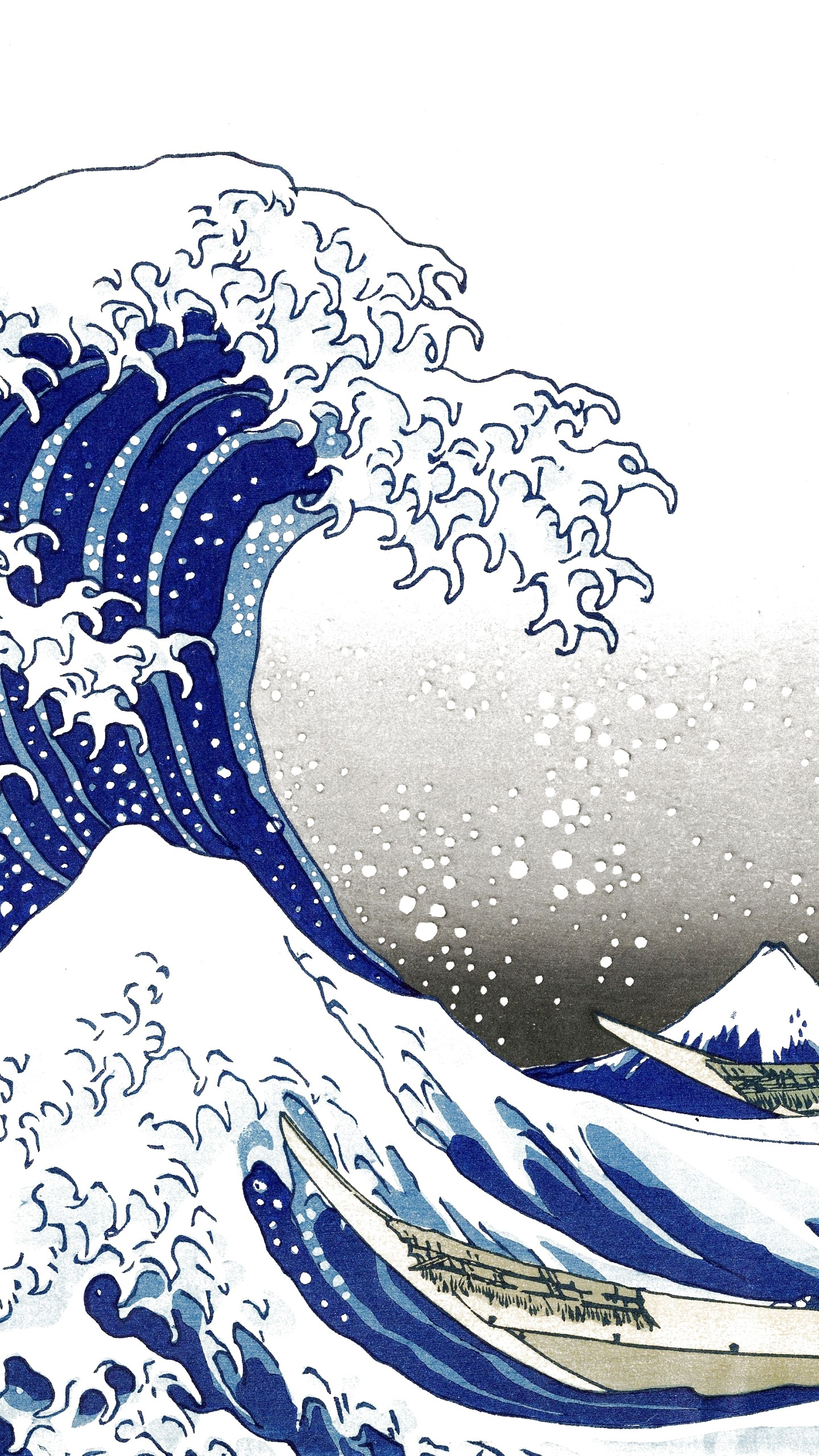the great wave One of the world's most recognisable artworks is to be displayed at the british museum for the first time in more than five years japanese artist katsushika hokusai's 1831 image, the great wave off kanagawa, is just one of a number of his works compiled for an exhibition exploring the later portion of his.