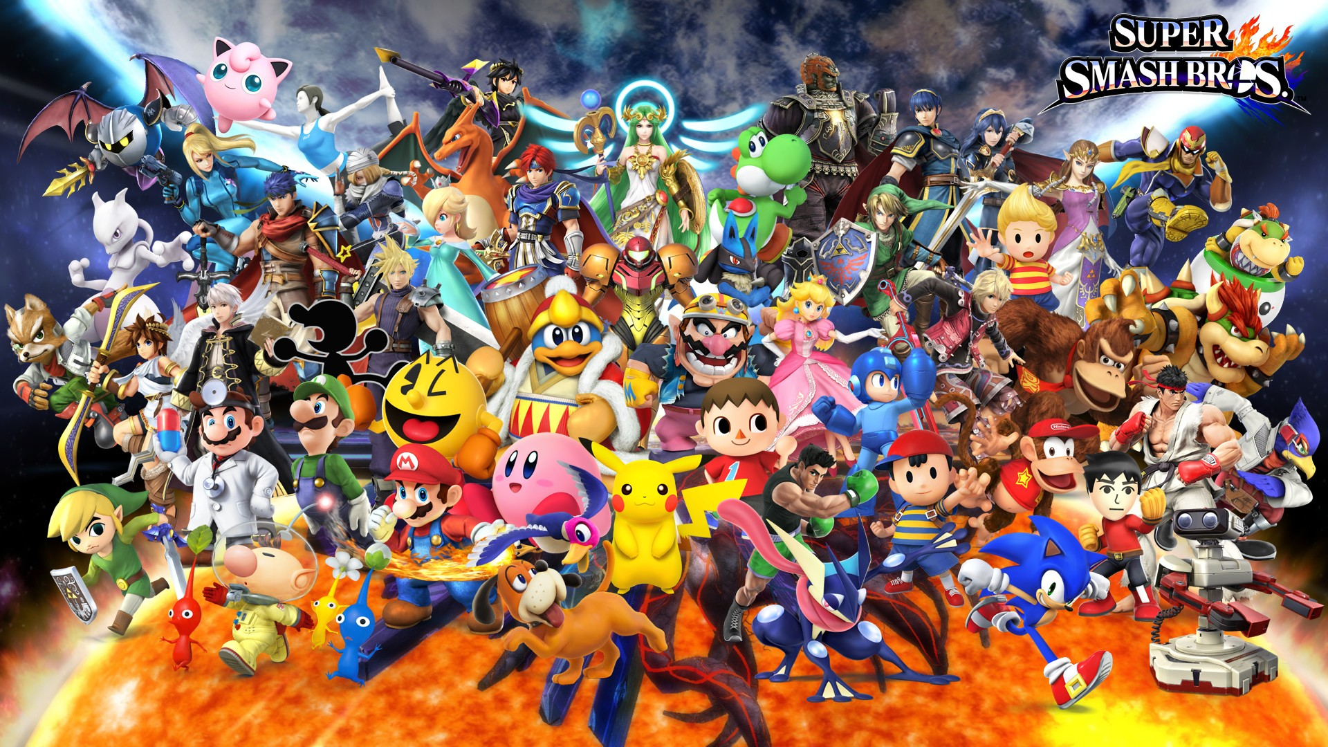 Super Smash Bros Wallpaper Download Free Beautiful Wallpapers
