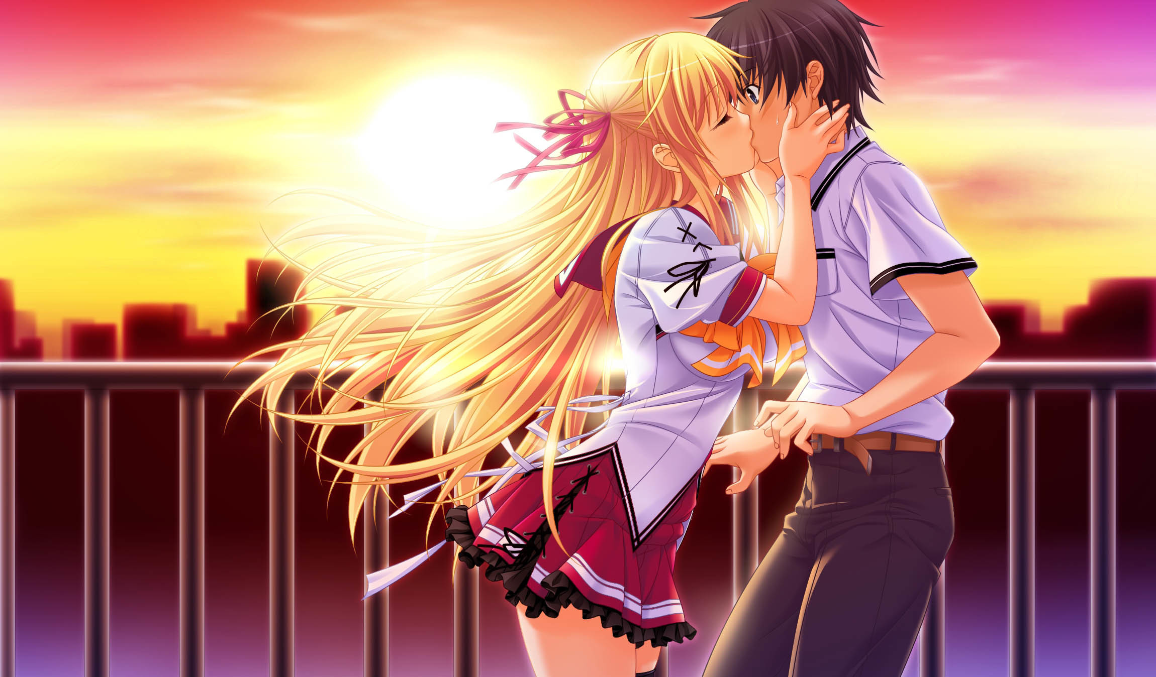 Romantic Anime Wallpaper