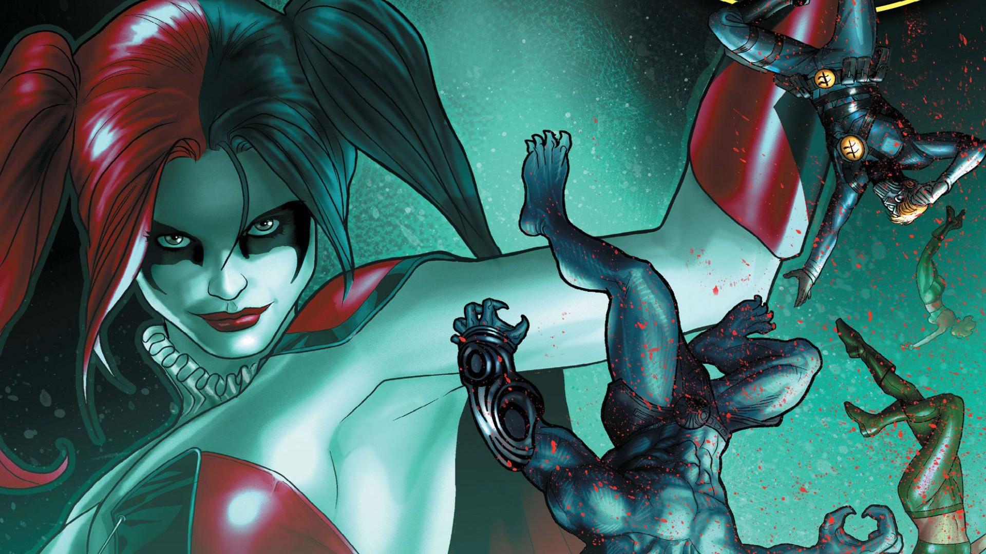 Harley Quinn And Joker Wallpaper Download Free Beautiful Full Hd