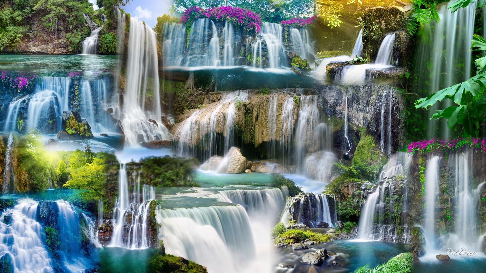 Waterfall HD Wallpaper 1