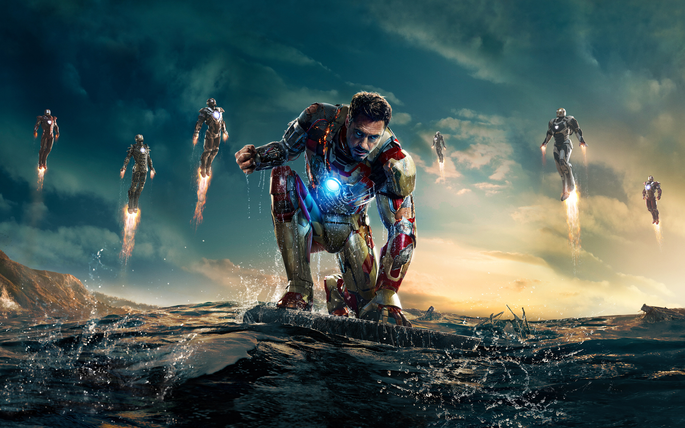 hd wallpapers iron man 3 ·①