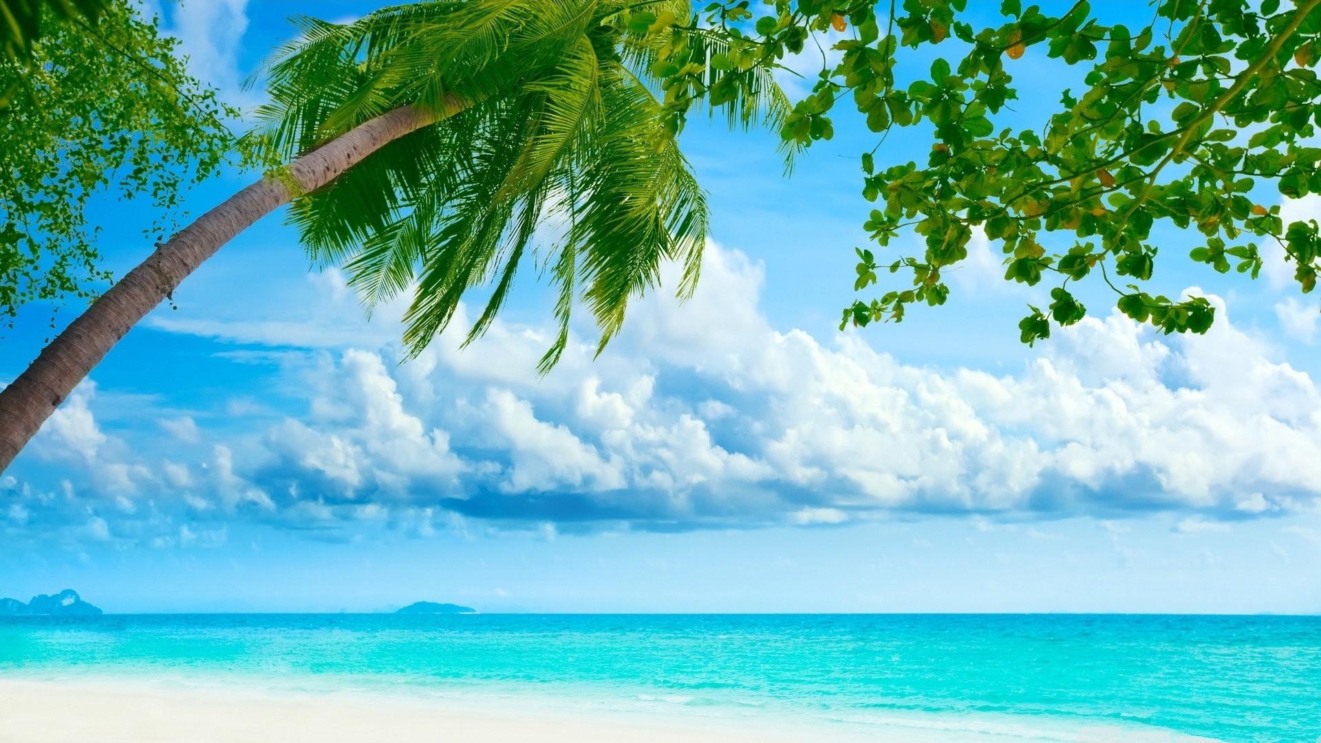 Tropical Island Desktop Wallpaper 1