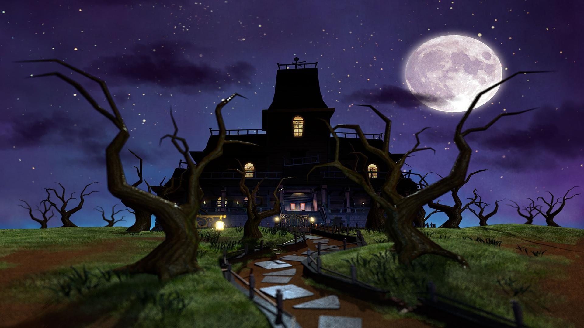 haunted mansion wallpaper 183�� download free stunning full