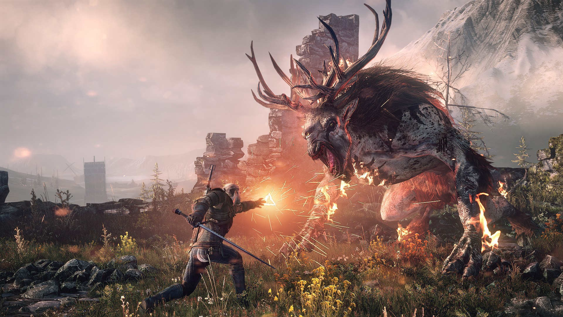 Witcher 3 background ·① Download free amazing High ...
